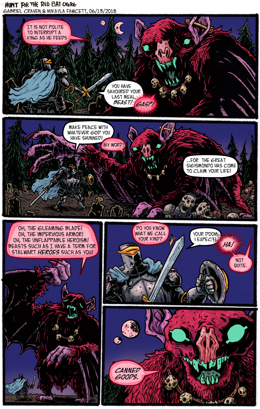 The Hunt for the Red Bat Ogre