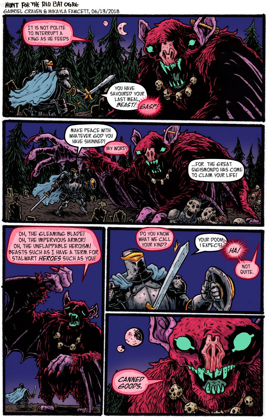 The Aspiring Legend: Hunt for the Red Bat Ogre